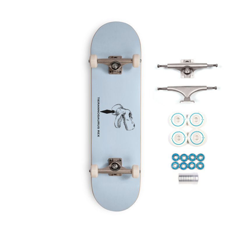 TIERANNOSARUS REX Accessories Complete - Basic Skateboard by droidmonkey's Artist Shop