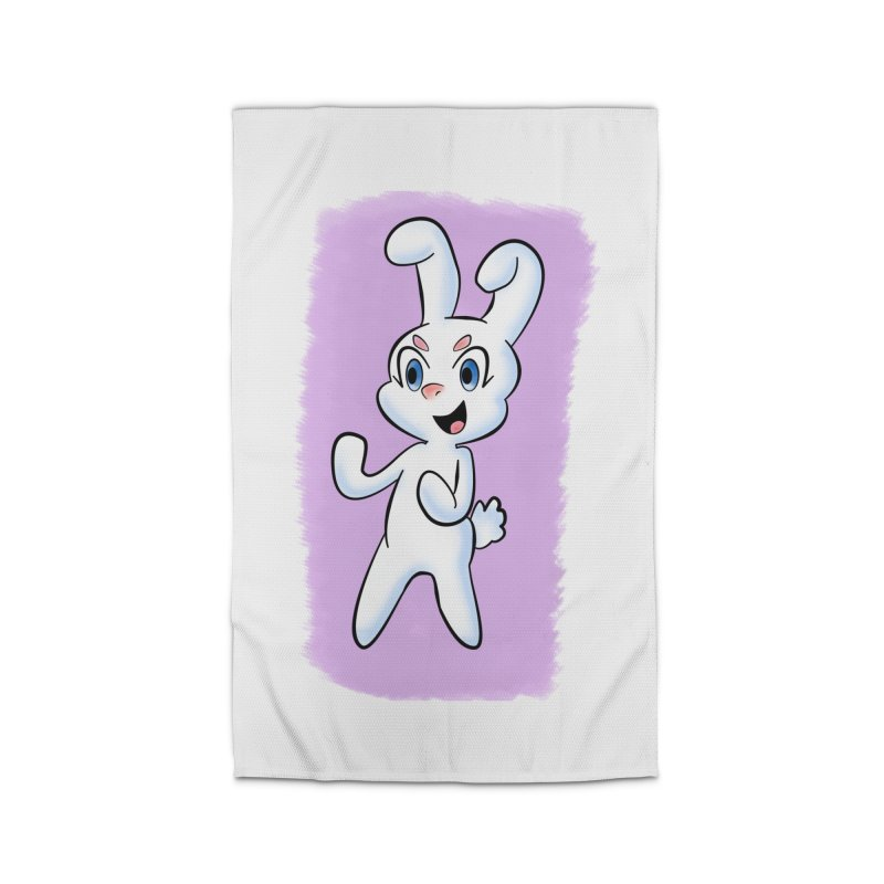 CUTE RABBIT Home Rug by droidmonkey's Artist Shop