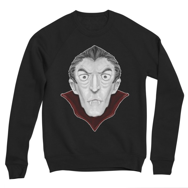 DRACULA Men's Sponge Fleece Sweatshirt by droidmonkey's Artist Shop