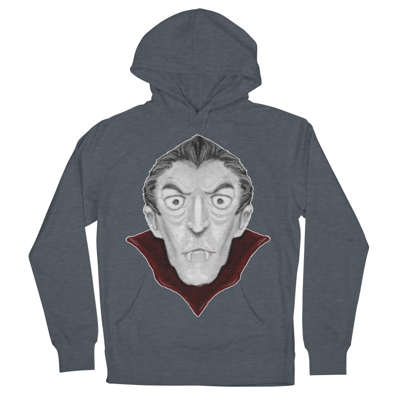DRACULA Men's French Terry Pullover Hoody by droidmonkey's Artist Shop