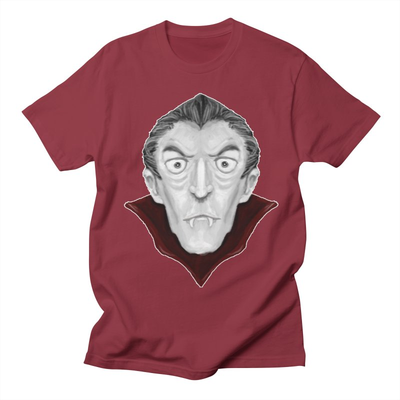 DRACULA Men's Regular T-Shirt by droidmonkey's Artist Shop