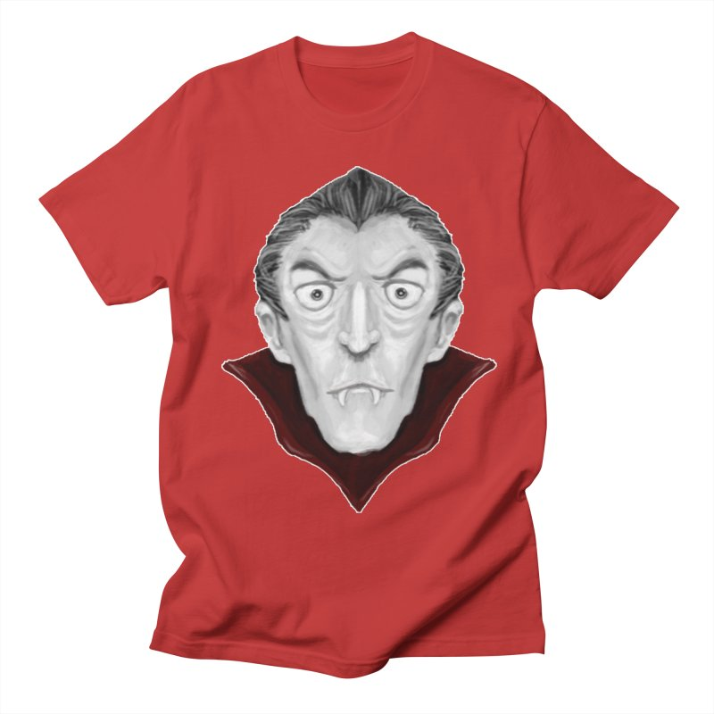 DRACULA Men's T-Shirt by droidmonkey's Artist Shop