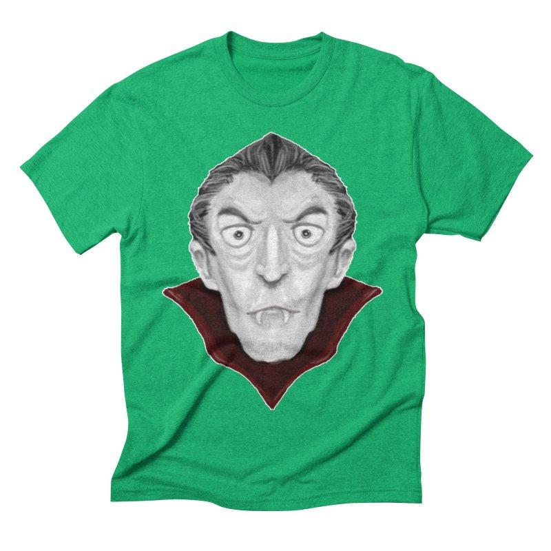 DRACULA Men's Triblend T-Shirt by droidmonkey's Artist Shop