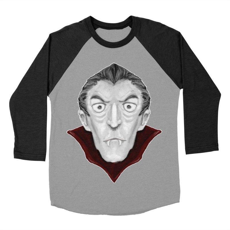 DRACULA Men's Baseball Triblend Longsleeve T-Shirt by droidmonkey's Artist Shop