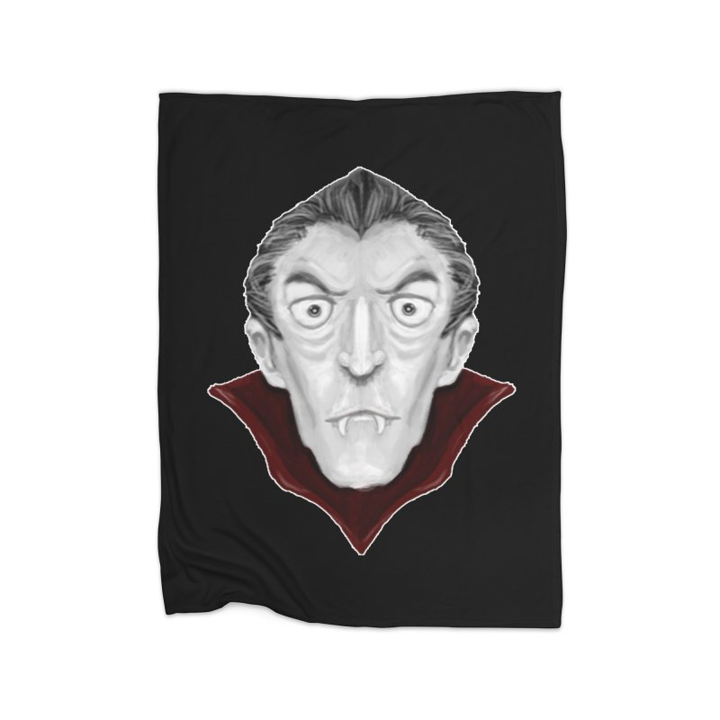 DRACULA Home Fleece Blanket Blanket by droidmonkey's Artist Shop