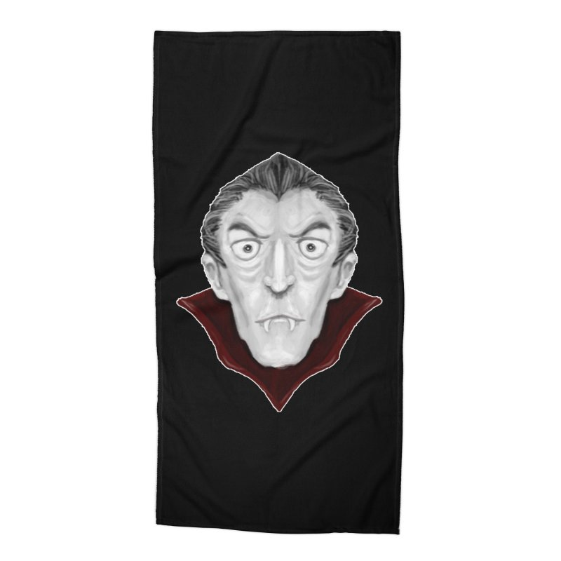 DRACULA Accessories Beach Towel by droidmonkey's Artist Shop