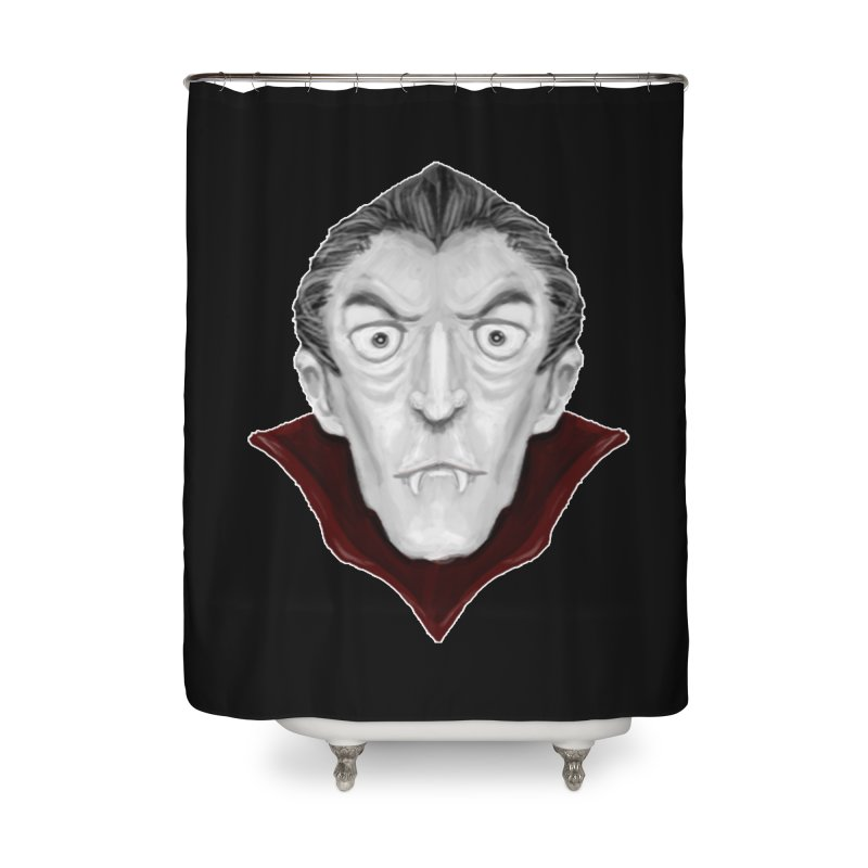 DRACULA Home Shower Curtain by droidmonkey's Artist Shop