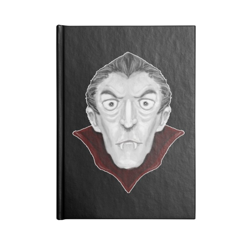 DRACULA Accessories Lined Journal Notebook by droidmonkey's Artist Shop