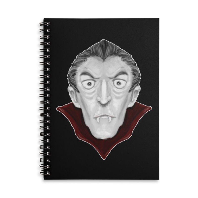 DRACULA Accessories Lined Spiral Notebook by droidmonkey's Artist Shop