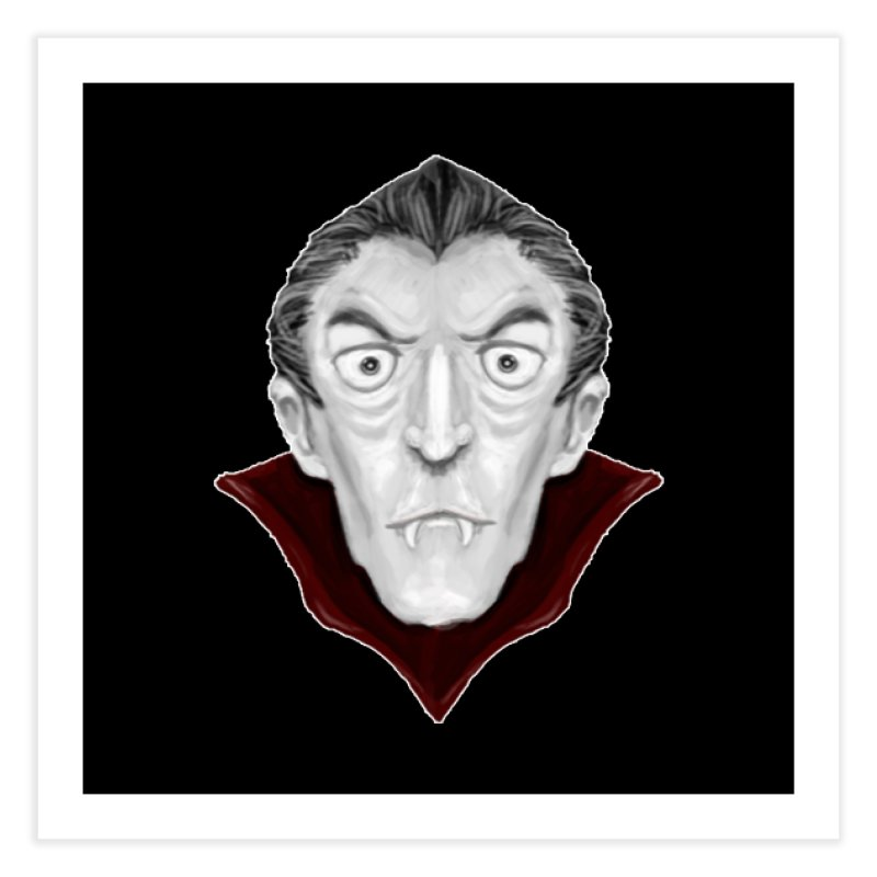 DRACULA Home Fine Art Print by droidmonkey's Artist Shop