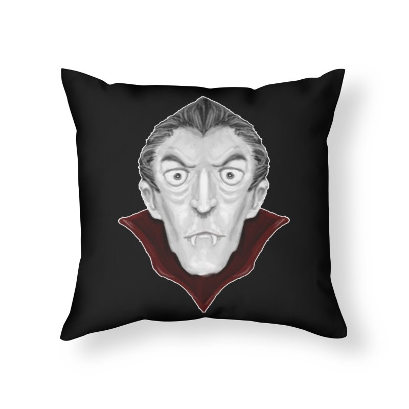 DRACULA Home Throw Pillow by droidmonkey's Artist Shop