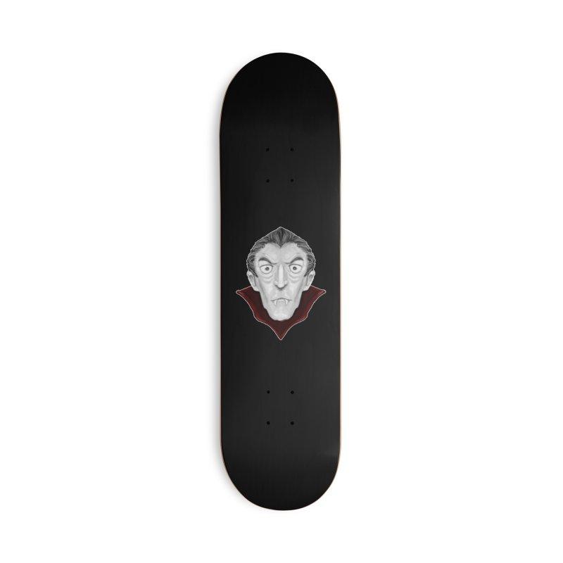 DRACULA Accessories Deck Only Skateboard by droidmonkey's Artist Shop