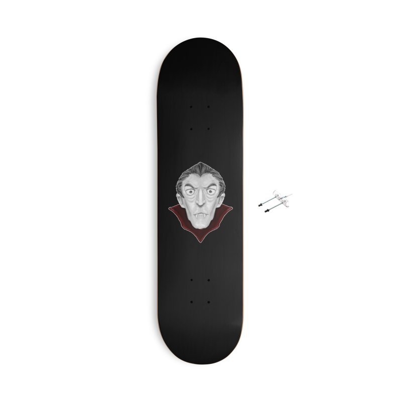 DRACULA Accessories With Hanging Hardware Skateboard by droidmonkey's Artist Shop