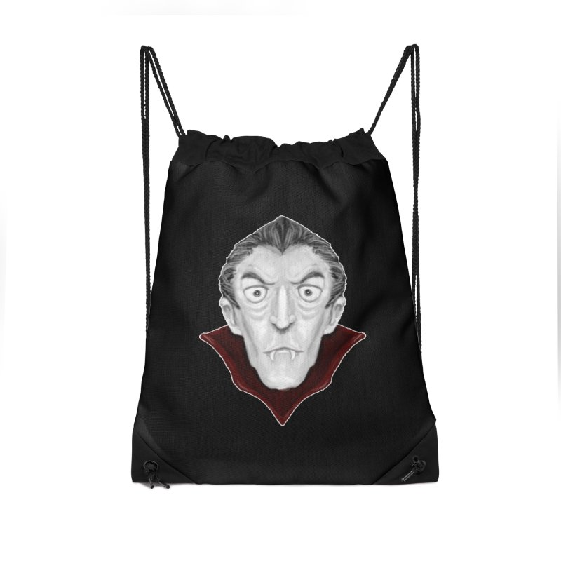DRACULA Accessories Drawstring Bag Bag by droidmonkey's Artist Shop
