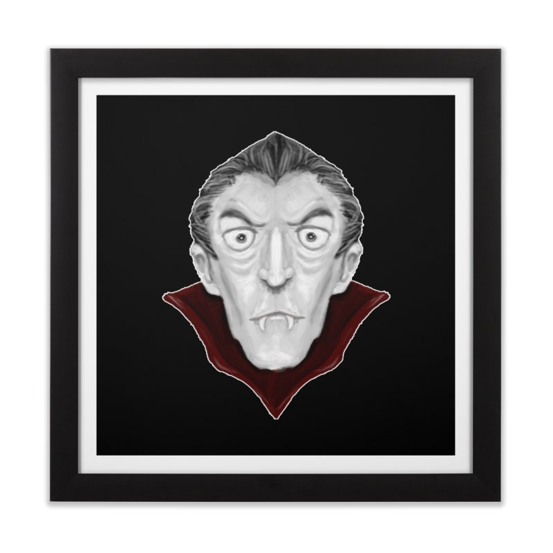 DRACULA Home Framed Fine Art Print by droidmonkey's Artist Shop