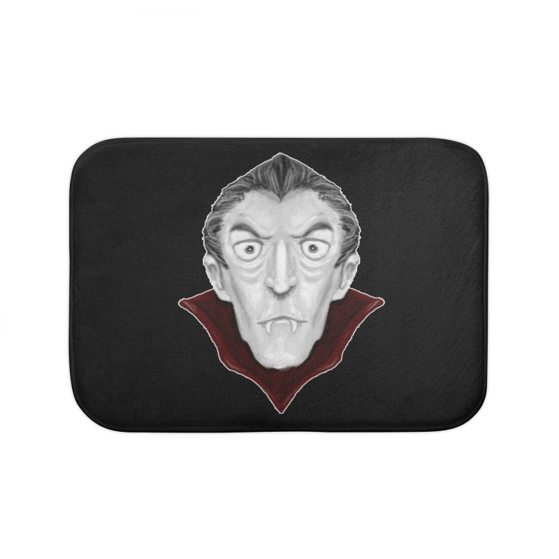 DRACULA Home Bath Mat by droidmonkey's Artist Shop