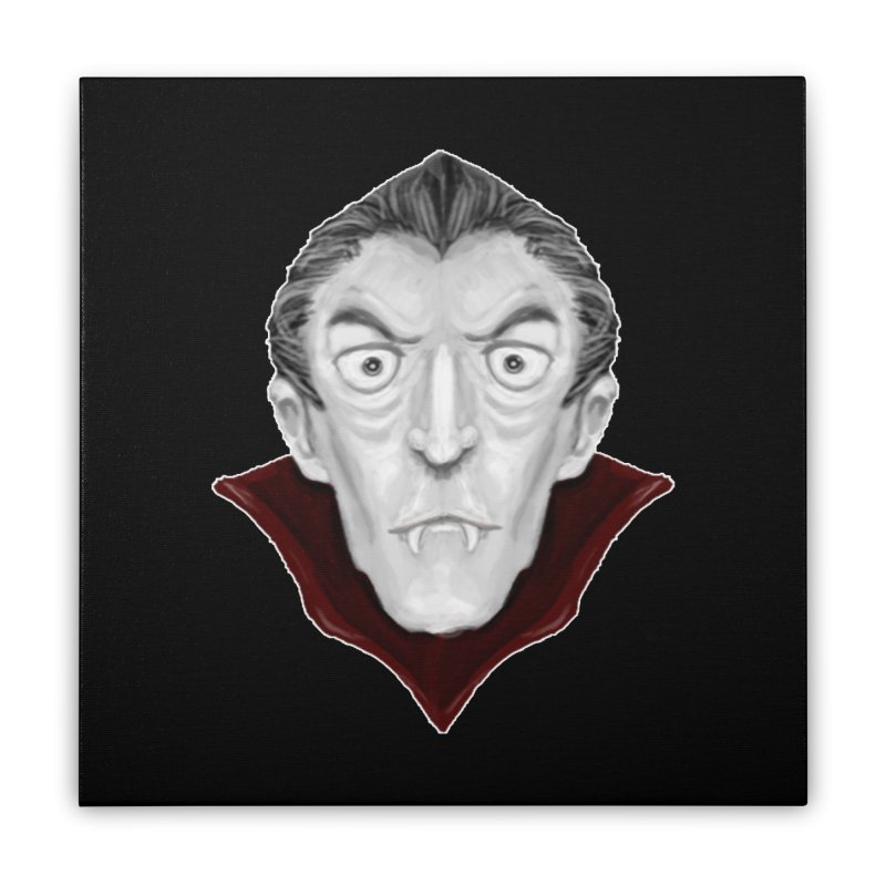 DRACULA Home Stretched Canvas by droidmonkey's Artist Shop