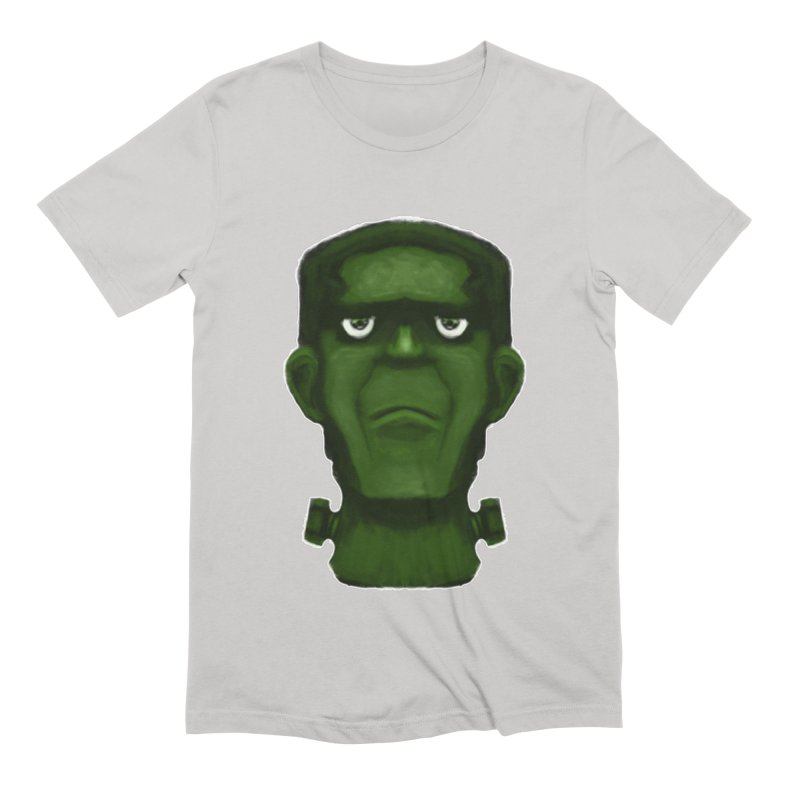 FRANKENSTEIN'S MONSTER Men's Extra Soft T-Shirt by droidmonkey's Artist Shop