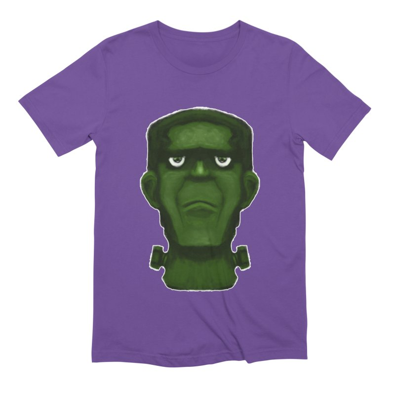 FRANKENSTEIN'S MONSTER Men's Extra Soft T-Shirt by droidmonkey's Artist Shop
