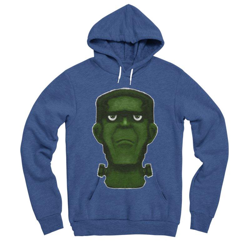 FRANKENSTEIN'S MONSTER Men's Sponge Fleece Pullover Hoody by droidmonkey's Artist Shop