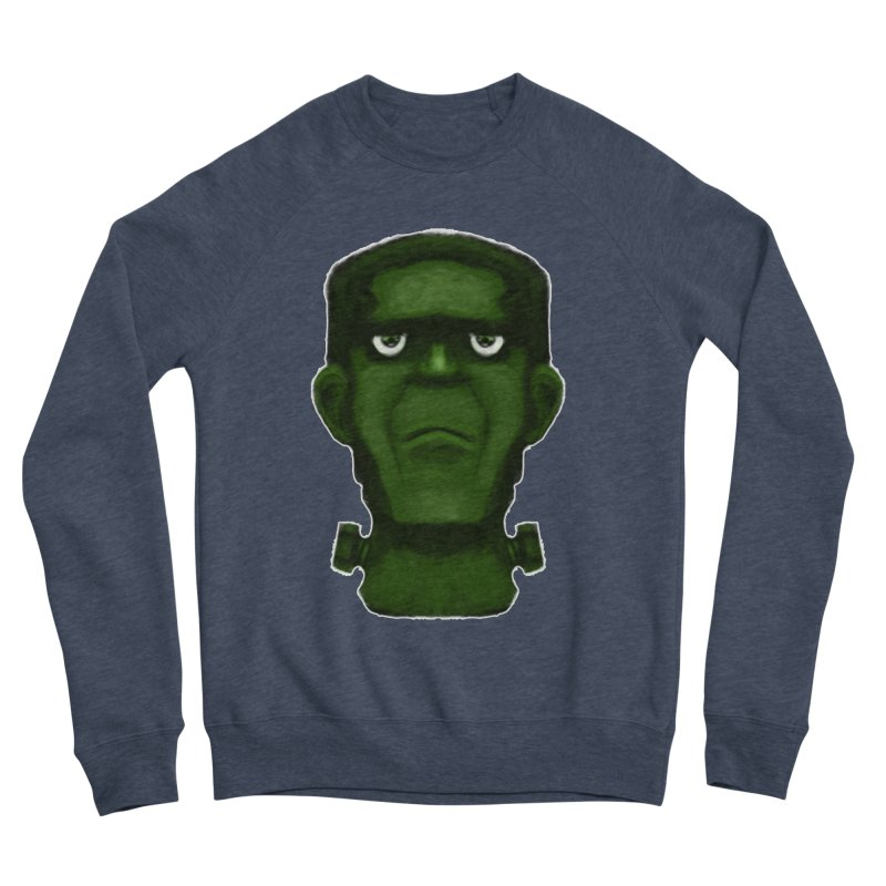 FRANKENSTEIN'S MONSTER Men's Sponge Fleece Sweatshirt by droidmonkey's Artist Shop