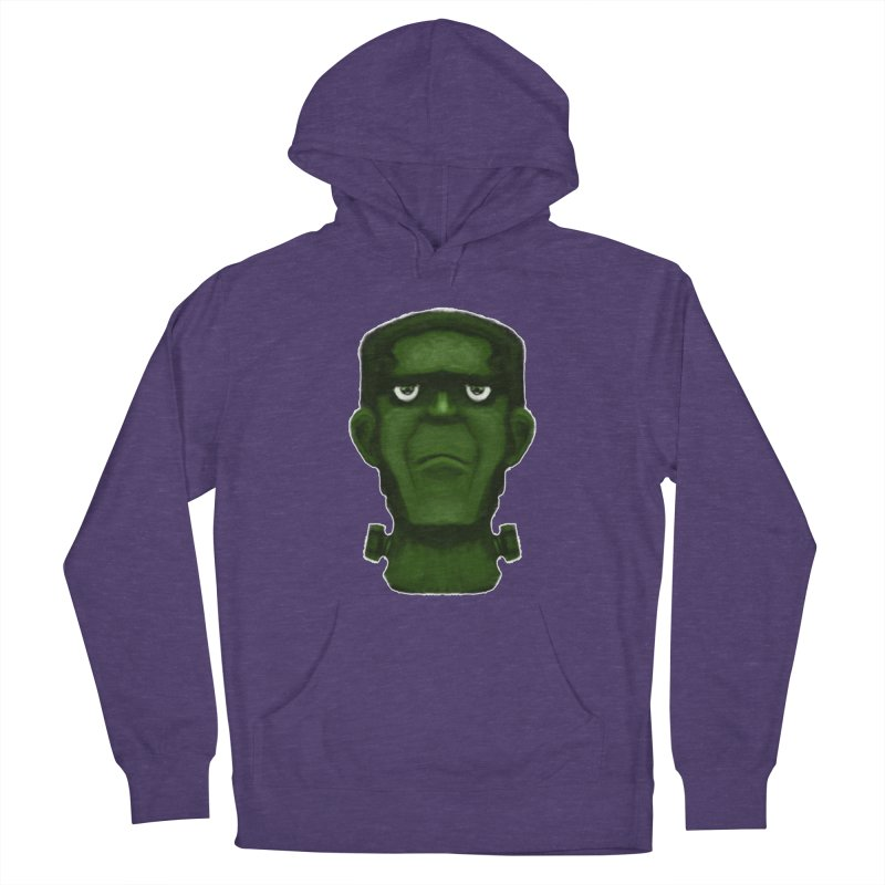 FRANKENSTEIN'S MONSTER Men's French Terry Pullover Hoody by droidmonkey's Artist Shop