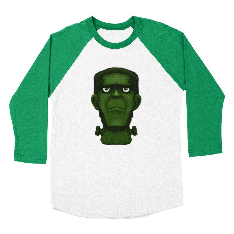 FRANKENSTEIN'S MONSTER Women's Baseball Triblend Longsleeve T-Shirt by droidmonkey's Artist Shop