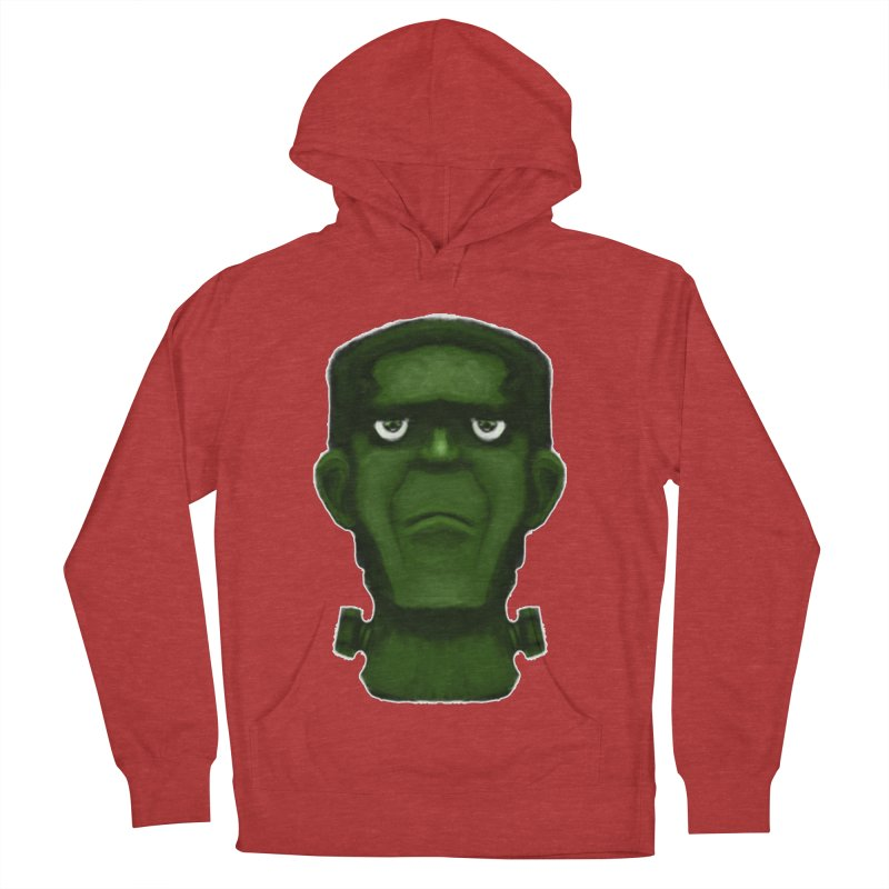 FRANKENSTEIN'S MONSTER Women's French Terry Pullover Hoody by droidmonkey's Artist Shop