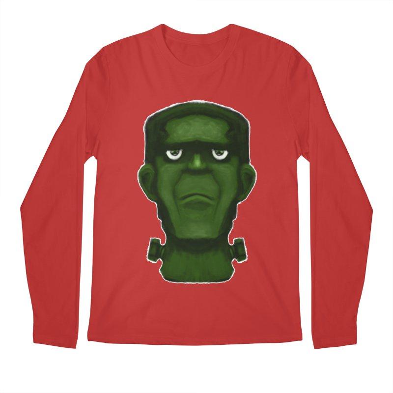 FRANKENSTEIN'S MONSTER Men's Regular Longsleeve T-Shirt by droidmonkey's Artist Shop