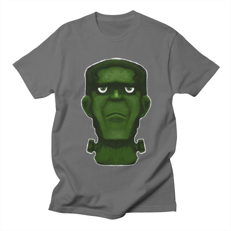 FRANKENSTEIN'S MONSTER Men's T-Shirt by droidmonkey's Artist Shop