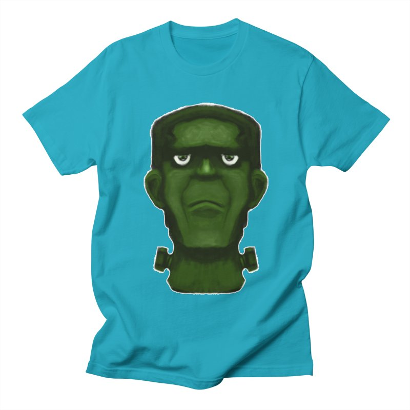 FRANKENSTEIN'S MONSTER Men's Regular T-Shirt by droidmonkey's Artist Shop
