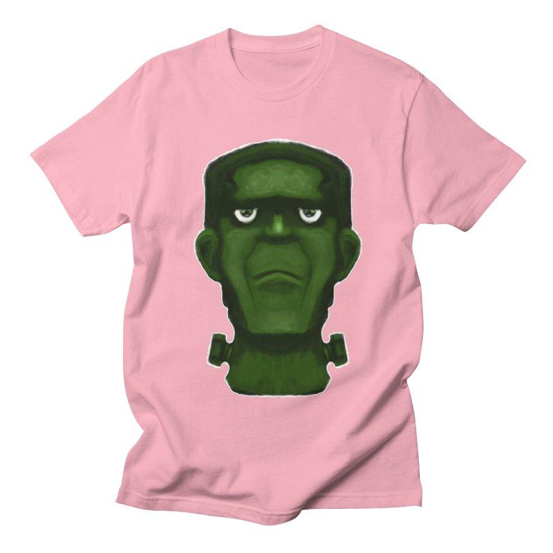 FRANKENSTEIN'S MONSTER Men's Regular T-Shirt by droidmonkey's Artist Shop