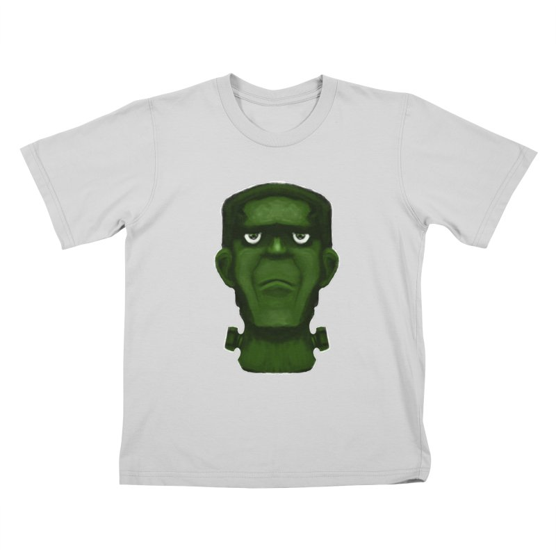 FRANKENSTEIN'S MONSTER Kids T-Shirt by droidmonkey's Artist Shop