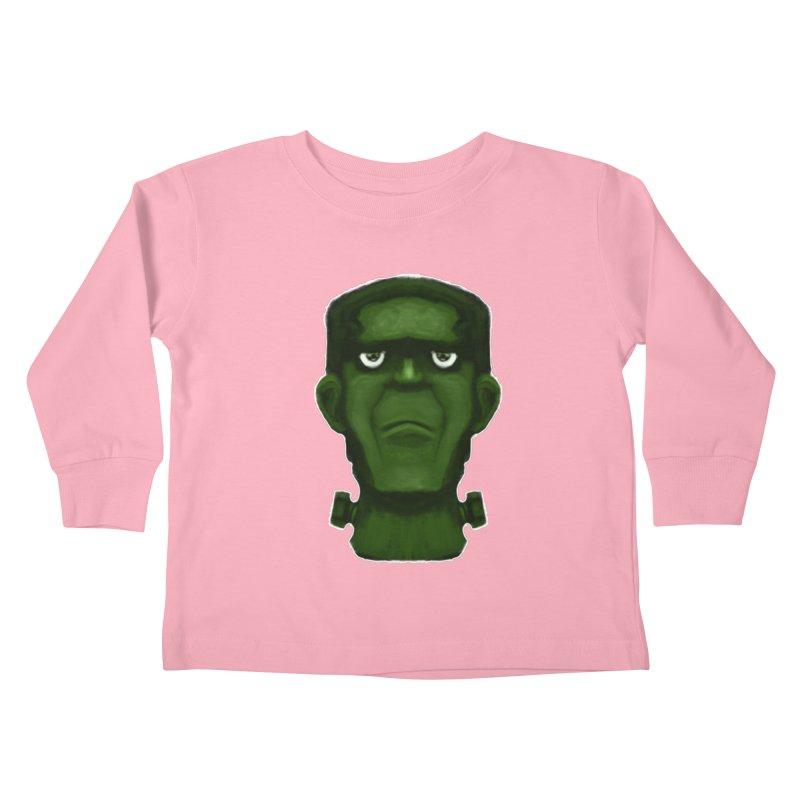 FRANKENSTEIN'S MONSTER Kids Toddler Longsleeve T-Shirt by droidmonkey's Artist Shop