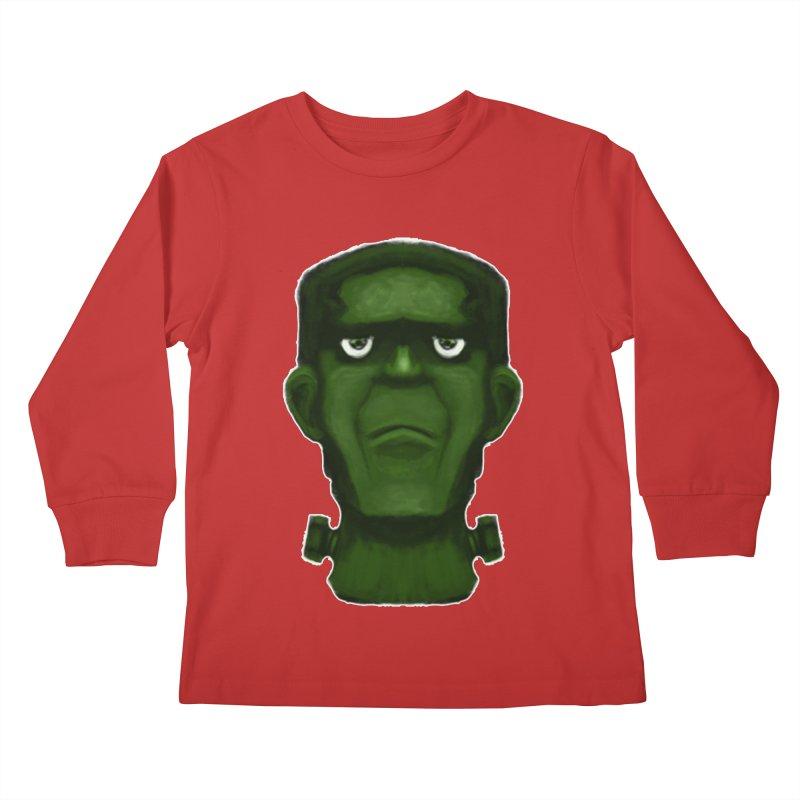 FRANKENSTEIN'S MONSTER Kids Longsleeve T-Shirt by droidmonkey's Artist Shop