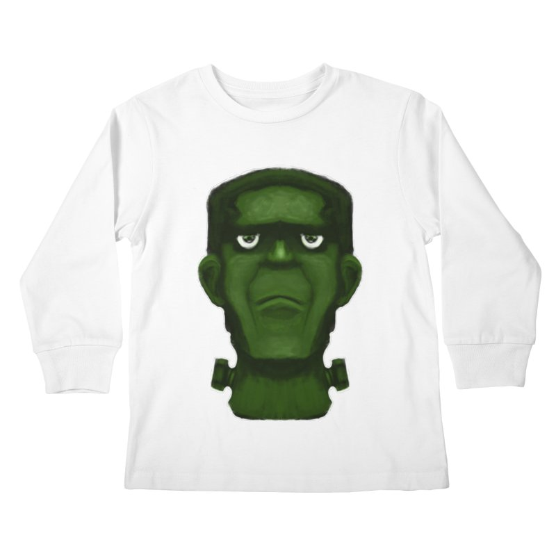 FRANKENSTEIN'S MONSTER Kids Longsleeve T-Shirt by droidmonkey's Artist Shop