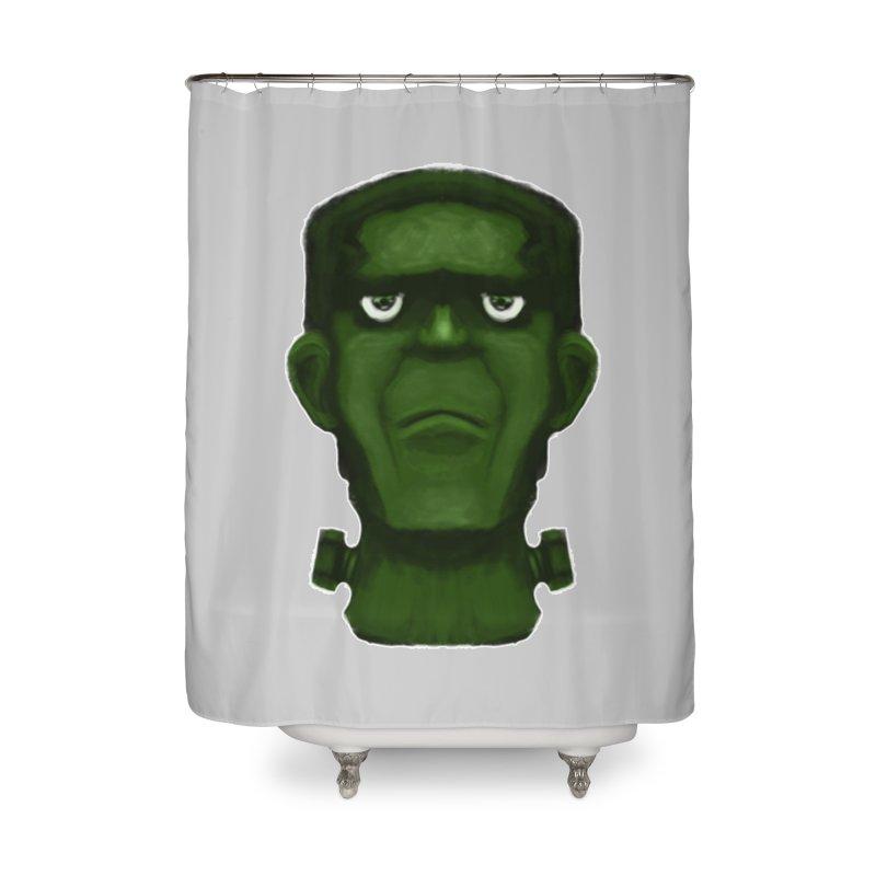 FRANKENSTEIN'S MONSTER Home Shower Curtain by droidmonkey's Artist Shop