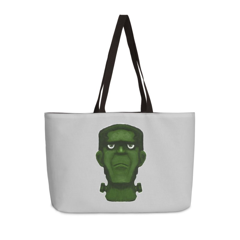 FRANKENSTEIN'S MONSTER Accessories Weekender Bag Bag by droidmonkey's Artist Shop