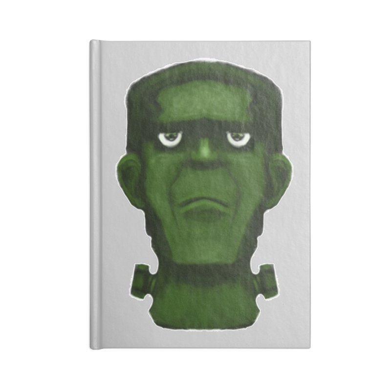FRANKENSTEIN'S MONSTER Accessories Lined Journal Notebook by droidmonkey's Artist Shop