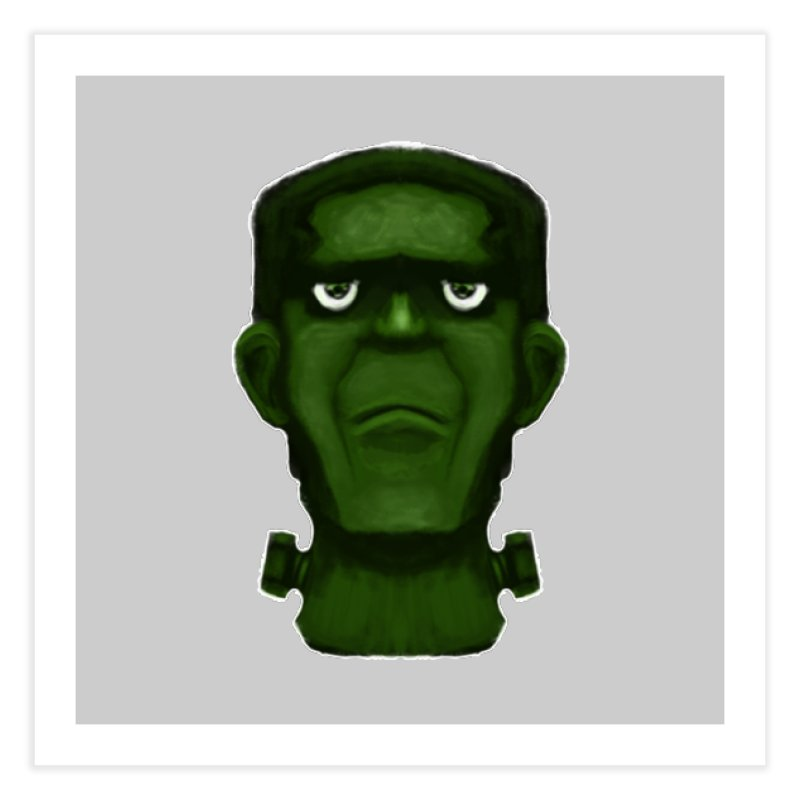 FRANKENSTEIN'S MONSTER Home Fine Art Print by droidmonkey's Artist Shop