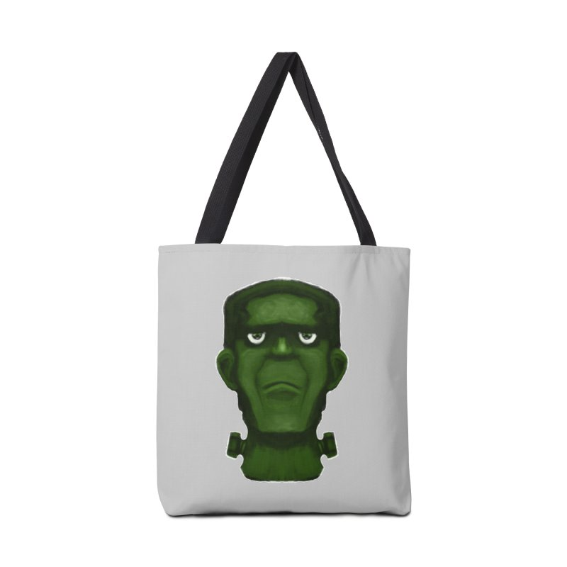 FRANKENSTEIN'S MONSTER Accessories Tote Bag Bag by droidmonkey's Artist Shop
