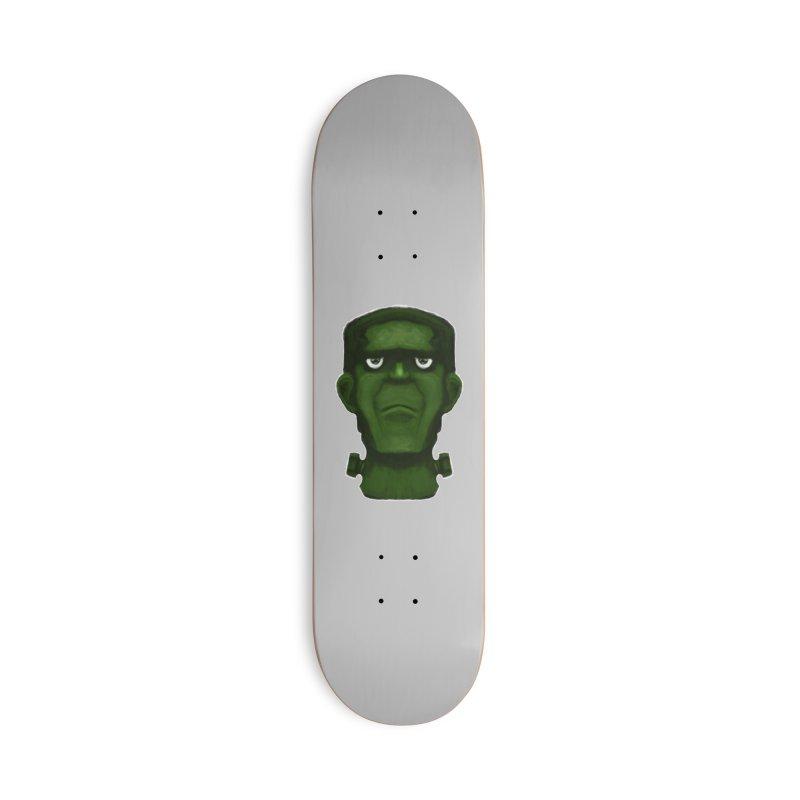 FRANKENSTEIN'S MONSTER Accessories Deck Only Skateboard by droidmonkey's Artist Shop