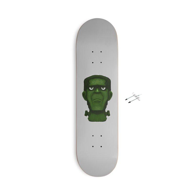 FRANKENSTEIN'S MONSTER Accessories With Hanging Hardware Skateboard by droidmonkey's Artist Shop