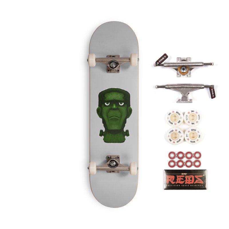 FRANKENSTEIN'S MONSTER Accessories Complete - Pro Skateboard by droidmonkey's Artist Shop