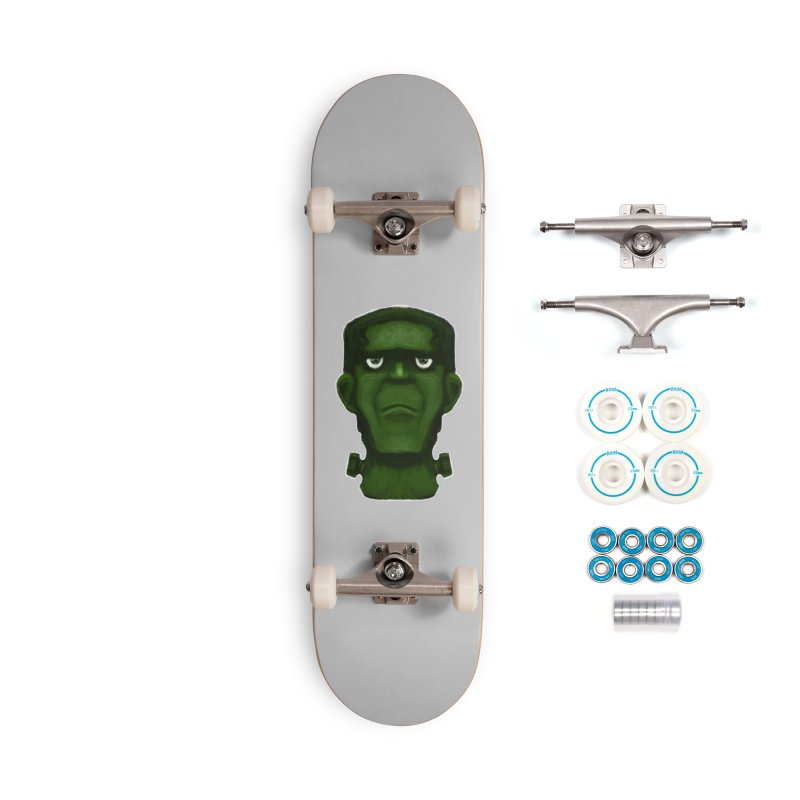 FRANKENSTEIN'S MONSTER Accessories Complete - Basic Skateboard by droidmonkey's Artist Shop