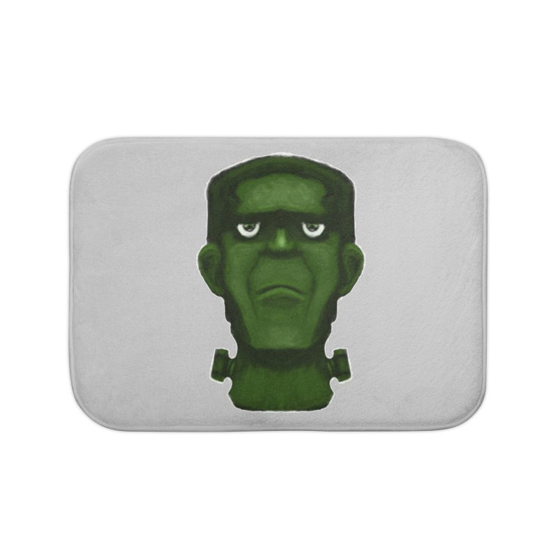 FRANKENSTEIN'S MONSTER Home Bath Mat by droidmonkey's Artist Shop