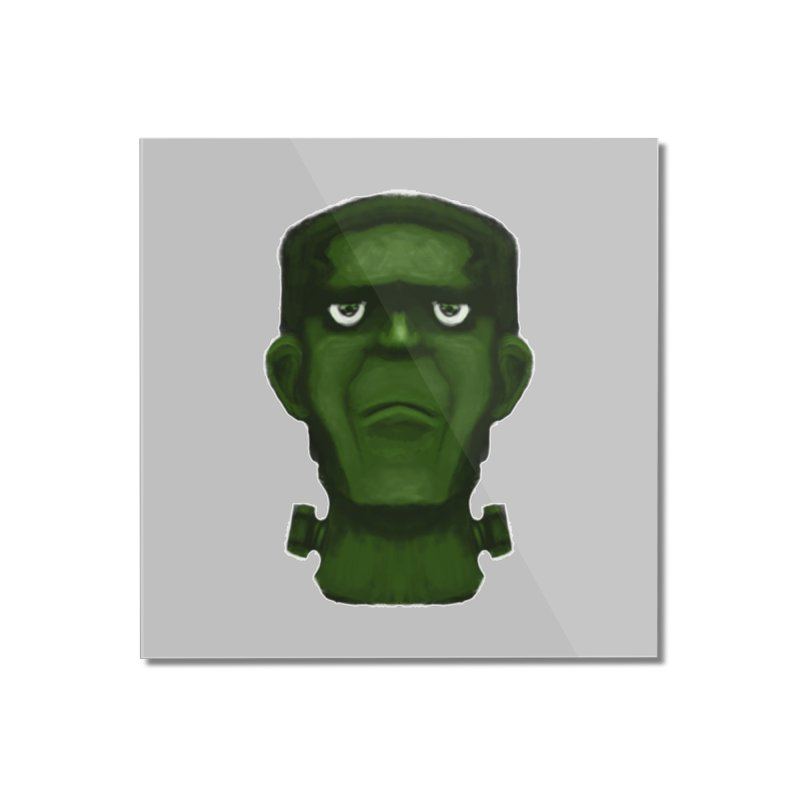 FRANKENSTEIN'S MONSTER Home Mounted Acrylic Print by droidmonkey's Artist Shop