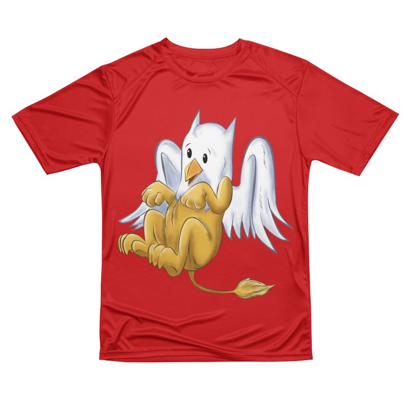 CUTE BABY GRIFFIN Women's Performance Unisex T-Shirt by droidmonkey's Artist Shop