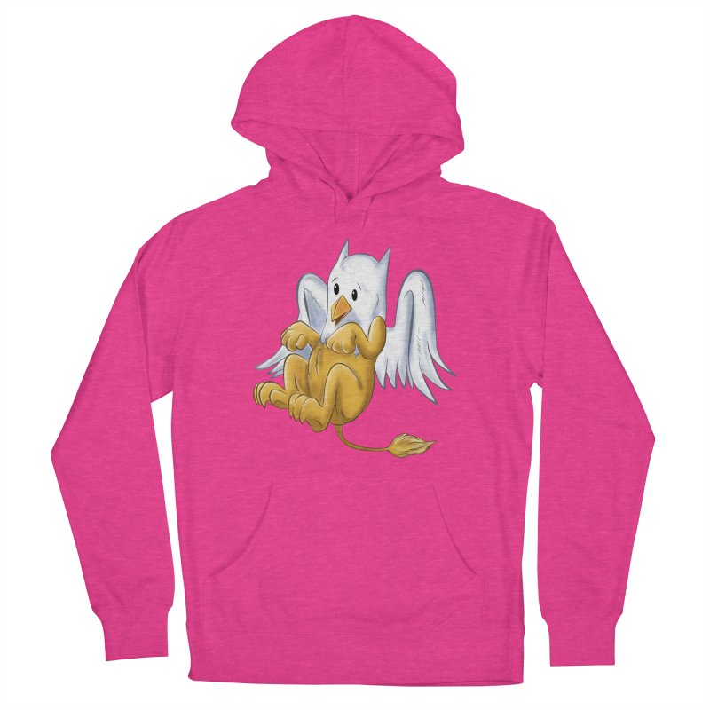 CUTE BABY GRIFFIN Men's French Terry Pullover Hoody by droidmonkey's Artist Shop