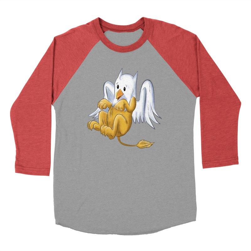 CUTE BABY GRIFFIN Women's Baseball Triblend Longsleeve T-Shirt by droidmonkey's Artist Shop